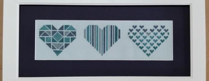 Framed Cross Stitch!