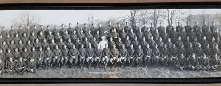 Framed Military Photo!