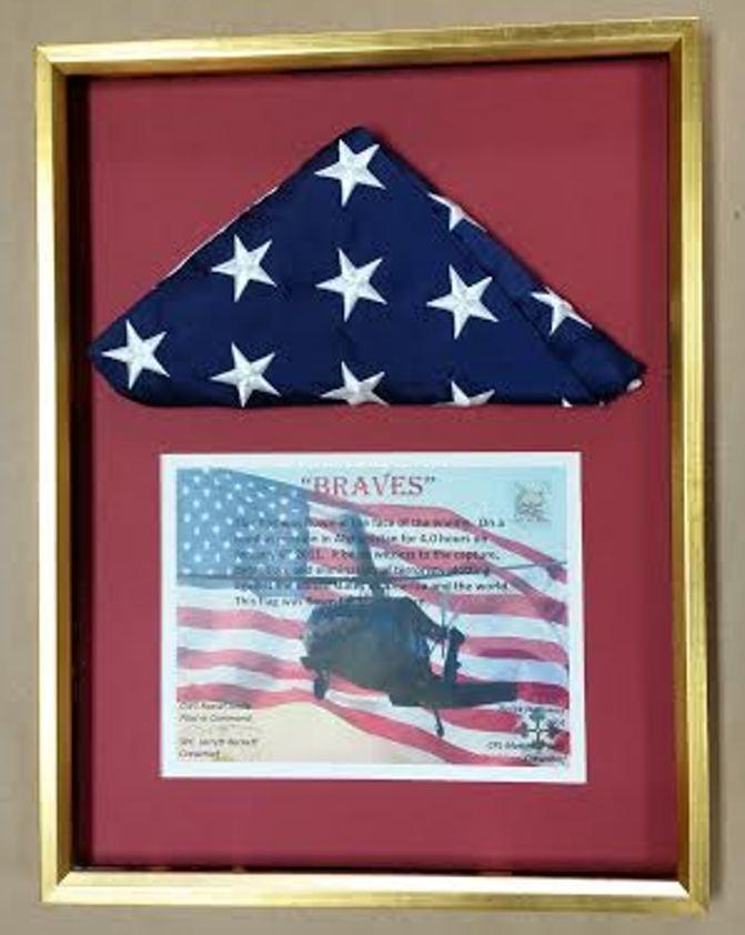 Framed Flag – Columbia Frame Shop