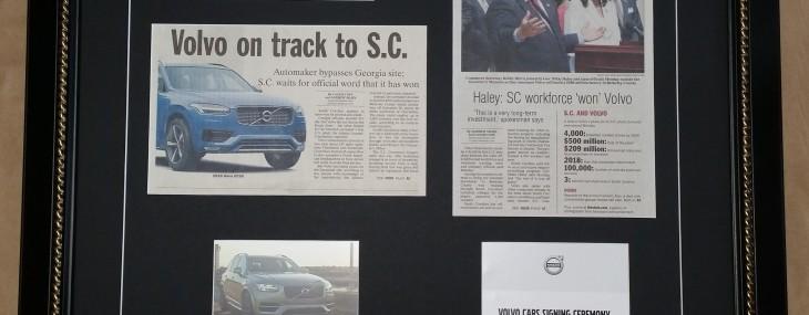 Framed Newspaper Article!