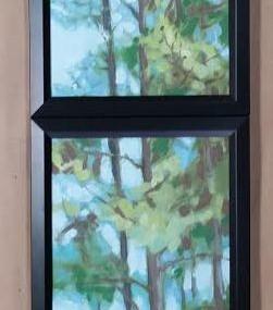 Framed Vertical Triptych! By SC Artist Scotty Peek!