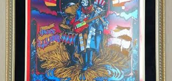 Framed Grateful Dead Fare Thee Well Poster!