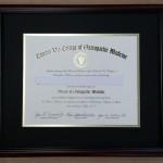 Edward Via College Diploma