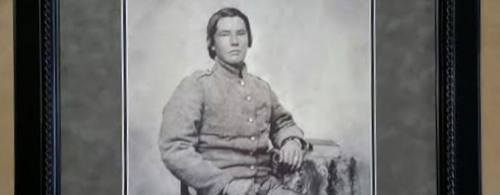Framed Civil War Portrait!