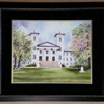Wofford College Main Building 1854 by Erica Hoyt