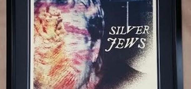 Framed Silver Jews Concert Poster!