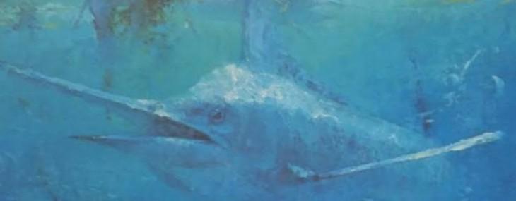 Framed Randall McKissick Billfish Collector's Print!