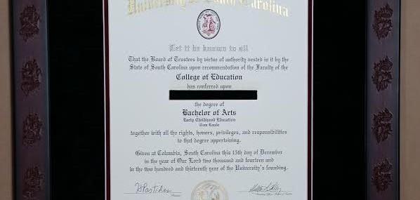 Diplomas, Diplomas, Diplomas!