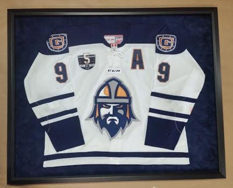 Framed Hockey Jersey – Columbia Frame Shop