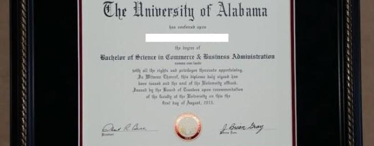 Alabama Diploma!