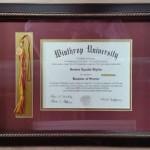 winthrop diploma