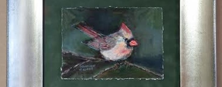 Cardinal Watercolor!