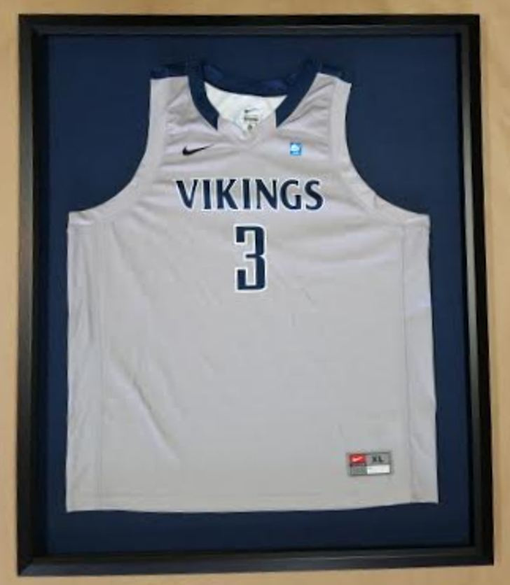 Framed Basketball Jersey! Berry College! – Columbia Frame Shop