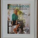 framed magazine