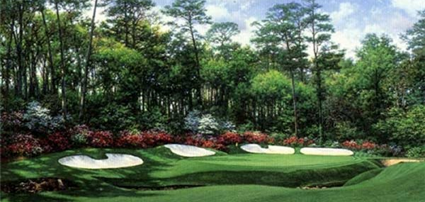Augusta National #13 by Larry Dyke!  Masters!