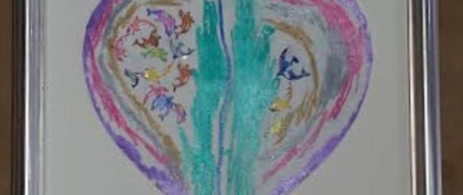 Framed Children's Art!