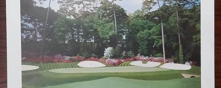 Augusta National Golf Prints! Jack Chilton Masters Golf Prints!