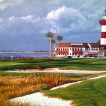 The 18th Hole Harbour Town Golf Links - detail