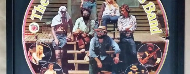 Framed Allman Brothers Circular Promotional Poster!