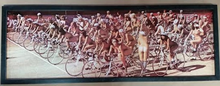 Frame Queen Album Insert!  Bicycle Race!