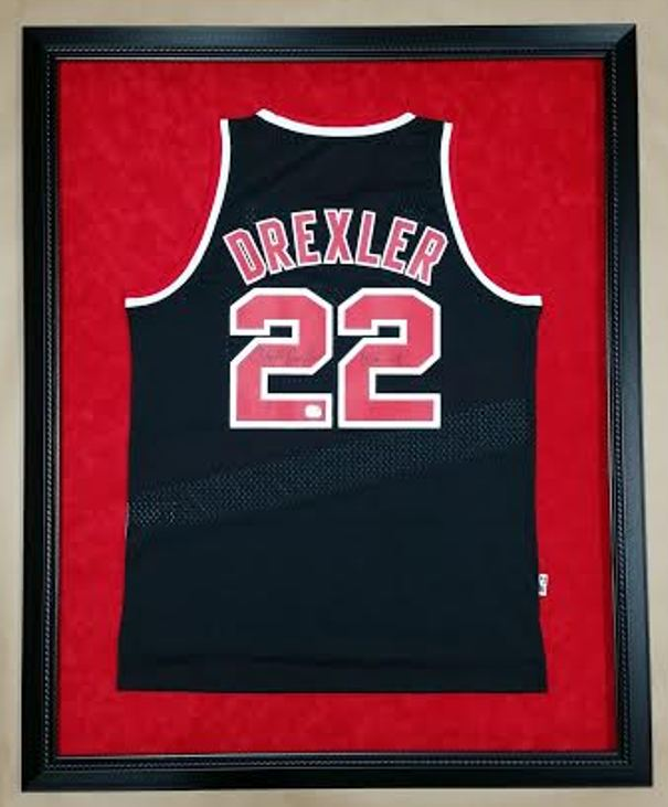 Framed jerseys columbia frame shop filed under framed jerseys framed sports memorabilia of the day tagged with framed basketball jersey made in the usa sports memorabilia solutioingenieria Images