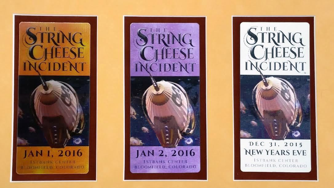 Wonderfully Framed String Cheese Incident Poster! Awesome ...
