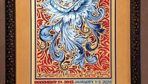 Wonderfully Framed String Cheese Incident Poster!  Awesome!