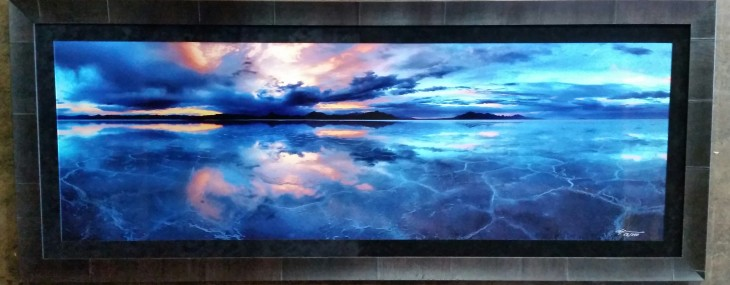 Framed Oversized Photograph!  Eight Feet Wide! Alexander Vershanin!
