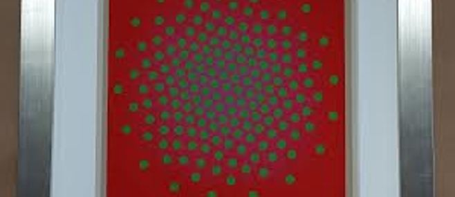 Anne Kesler Shields 1965 Silk Screen!