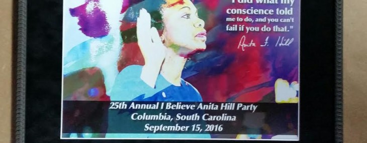 Framed Anita Hill Dinner Poster!