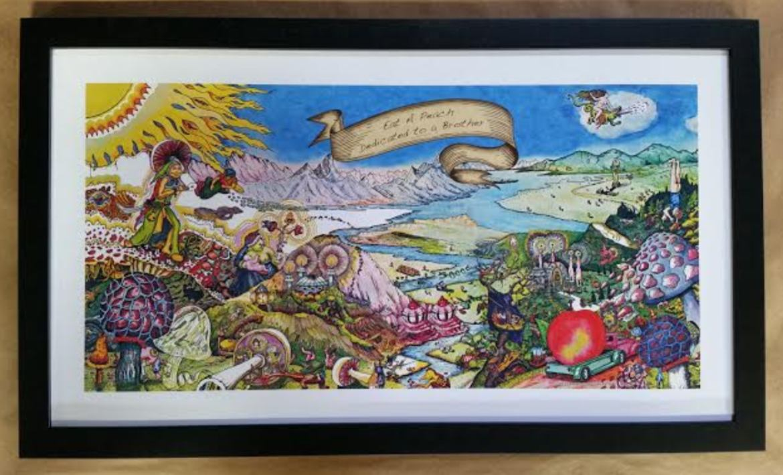 Allman Brothers Album Art Poster! – Columbia Frame Shop