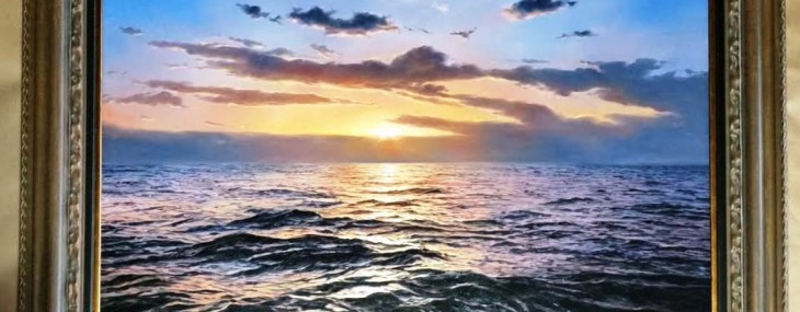 Wonderful Alfredo Navarro Hyper-realistic Seascape!