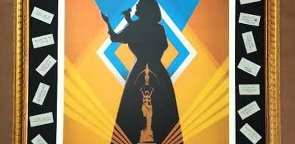 Framed Adele Poster!