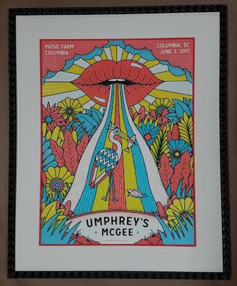 Concert Posters – Columbia Frame Shop