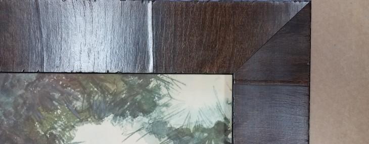 Italian Olive Wood Frame! Fabulous!