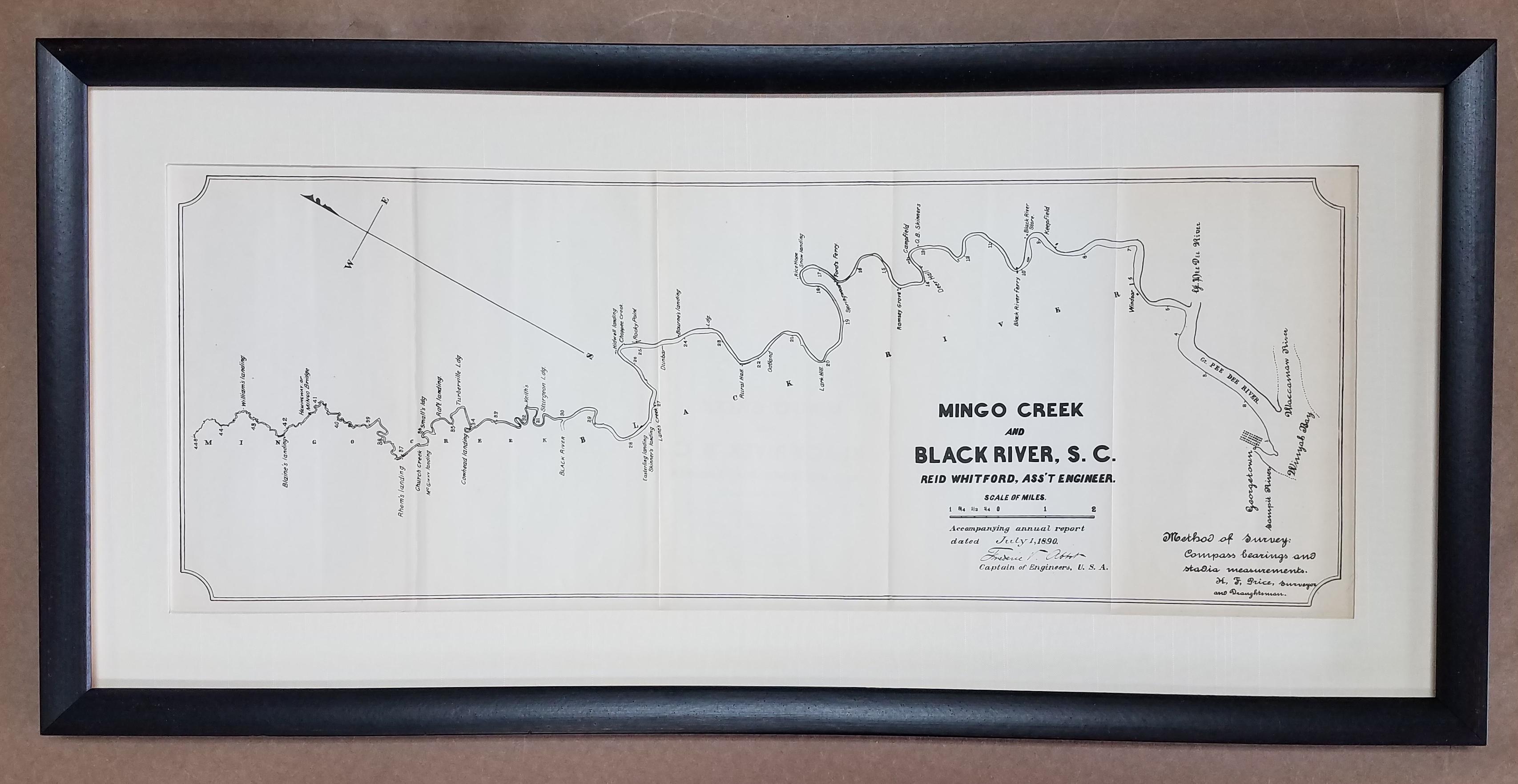 framed maps – Columbia Frame Shop