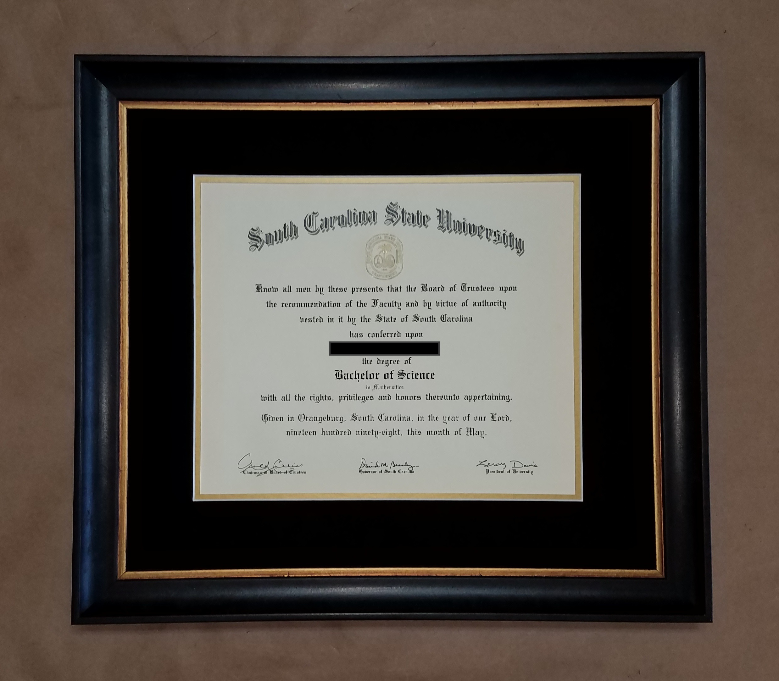 Dorable Usc Diploma Frame Pictures - Frame Photo Design Ideas ...