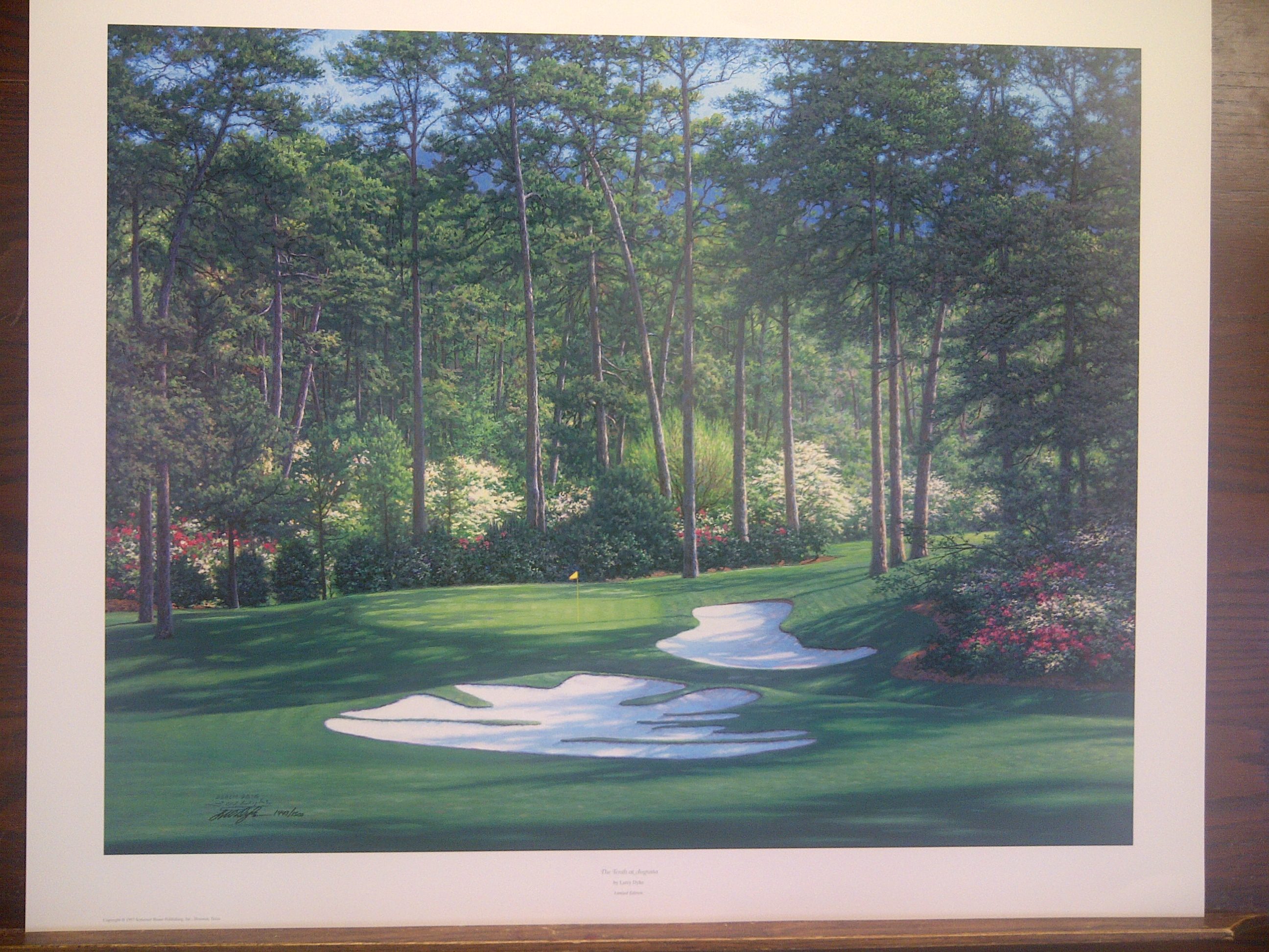 Augusta National 10th Hole Columbia Frame Shop