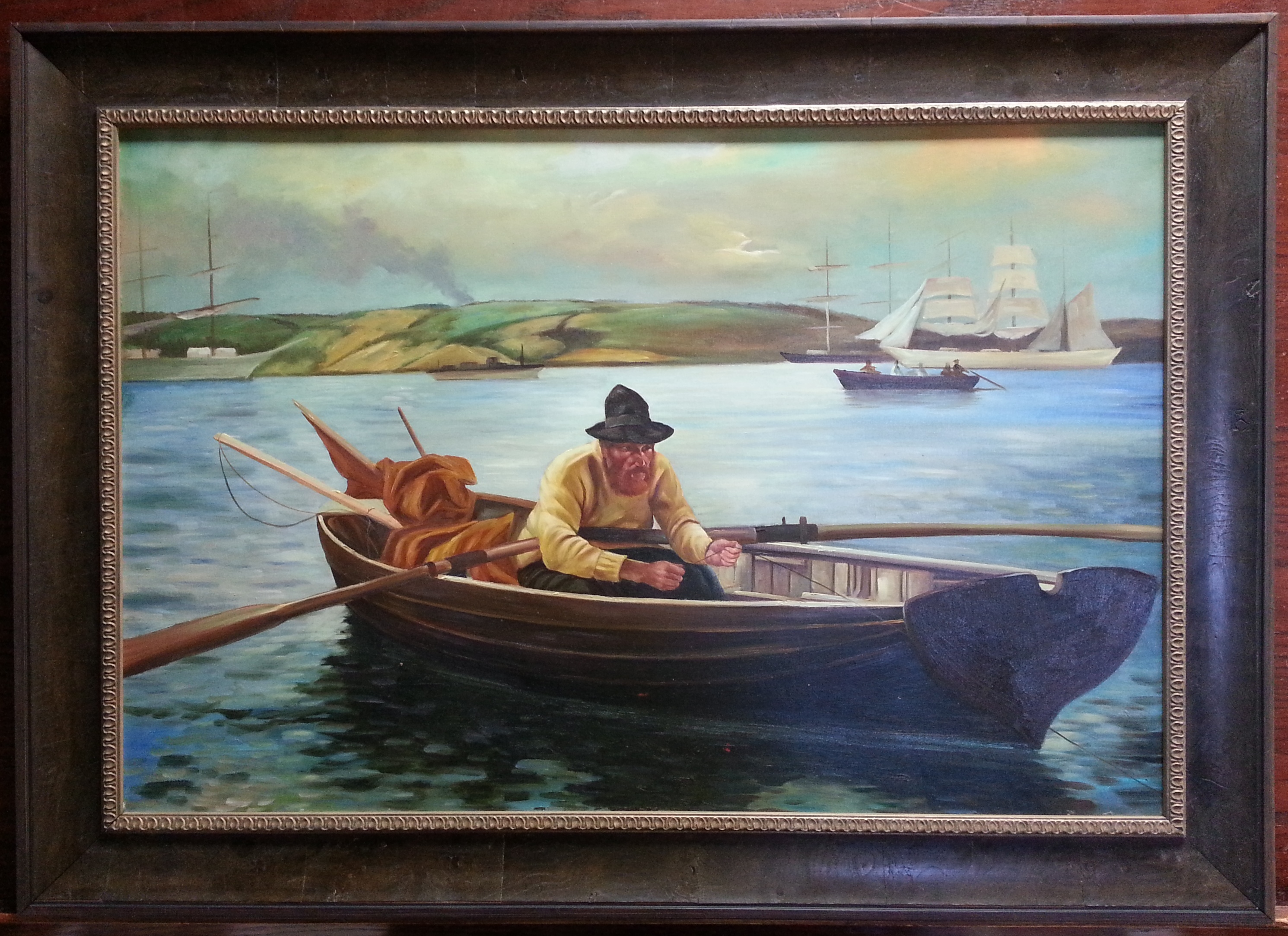 Framed Oil Painting Columbia Frame Shop