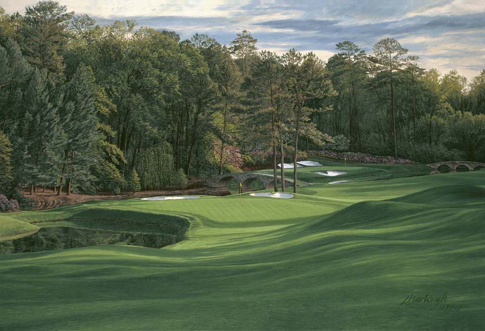 Masters 11th Hole White Dogwood Augusta National By