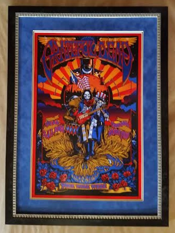 Grateful Dead Columbia Frame Shop